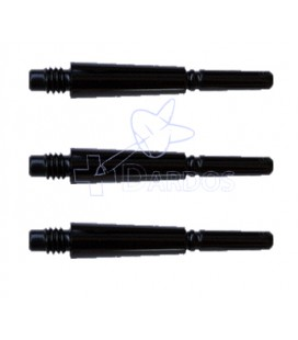 FIT SHAFT GEAR Locked 18mm negra 3 Uds.