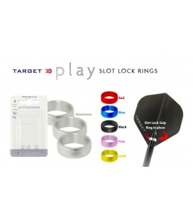 SLOT LOCK RING TARGET Black