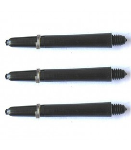 NYLON PLUS SHAFTS Schwarz Inbetween