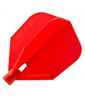 Ailettes HARROWS CLIC STANDARD Rouge