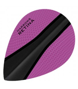 HARROWS RETINA OVAL Pink-Black