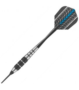 HARROWS Black Jack. 20grs. SOFTIP DARTS