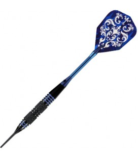 SOFTDARTS HARROWS PIRATE BLAU. 16grs
