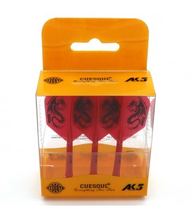 CUESOUL AK5 Shape Flights Dragon Red