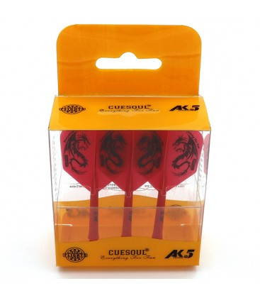 Flights CUESOUL AK5 Shape Dragon Red
