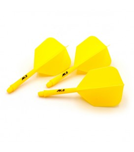 CUESOUL AK5 Shape Flights Yellow