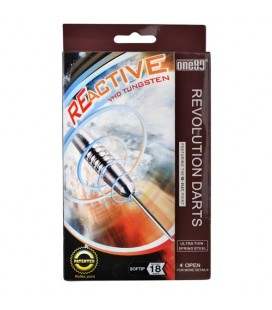 SOFTIP DARTS ONE80 VHD Reactive. 18gr