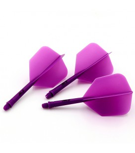 CUESOUL AK5 Shape Flights Purple