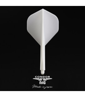 CONDOR AXE Integrated Flight Standard white large