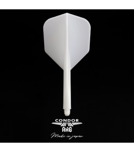 CONDOR AXE FLIGHTS shape länge weiß