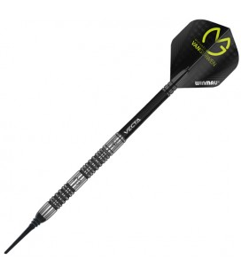SOFTIP DARTS WINMAU MVG ABSOLUTE 90%. 22 grs.