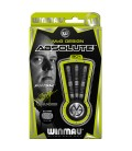 FLÉCHETTES WINMAU MVG ABSOLUTE 90%. 22 grs.