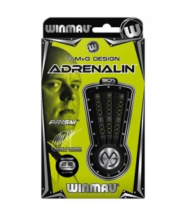 SOFTIP DARTS WINMAU MVG ADRENALIN 90%. 22 grs.
