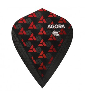 TARGET AGORA ULTRA GHOST Kite Rosso