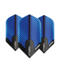 Winmau Prism Alpha Slim blau Flights